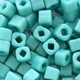 koraliki Toho cube opaque turquoise 3 mm TC-03-55