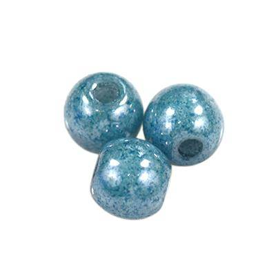 round beads light blue 3 mm