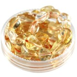 premium chips citrine 5 - 9 mm