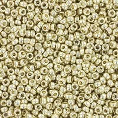 Miyuki perle round duracoat galvanized silver 15/0 #15-4201