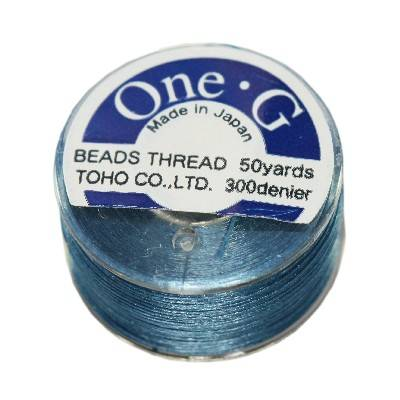 Toho thread One-G blue PT-50-10