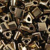 Toho beads triangle bronze 3 mm TG-08-221