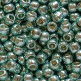 Toho beads round ermafinish - galvanized green teal 2.2 mm TR-11-PF561