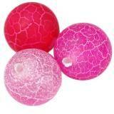 agat ognisty różowy 10 mm kamień półszlachetny naturalny barwiony