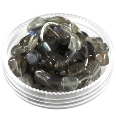 kamień premium labradoryt 5 - 9 mm kamień półszlachetny naturalny