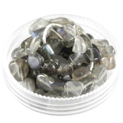 kamień labradoryt premium 5 - 9 mm kamień półszlachetny naturalny