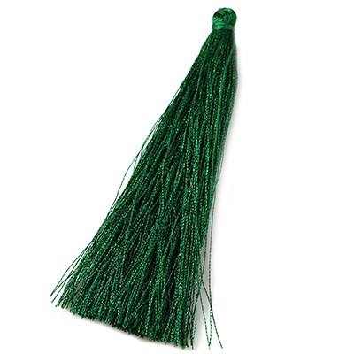 tassels green 90 mm