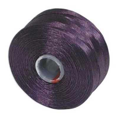S-lon bead cord tex 45 purple