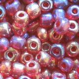 glass seed beads rose 3.5 mm