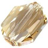 Swarovski graphic beads crystal golden shadow 18 mm