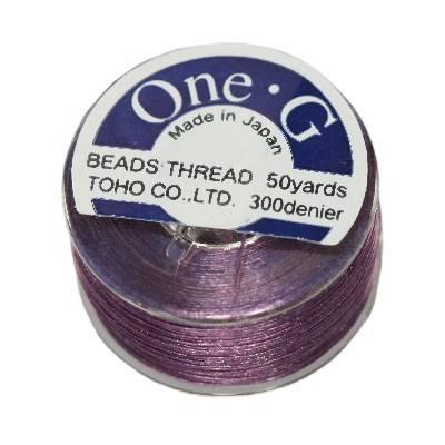 Toho thread One-G purple PT-50-11