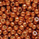 Toho round permafinish - galvanized saffron 2.2 mm TR-11-PF562