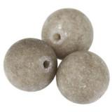 jadeit matowy dymny 10 mm kamień naturalny barwiony