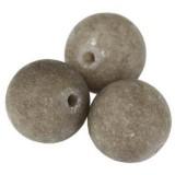 Jade matte smoky 10 mm / Halbedelstein gefärbt