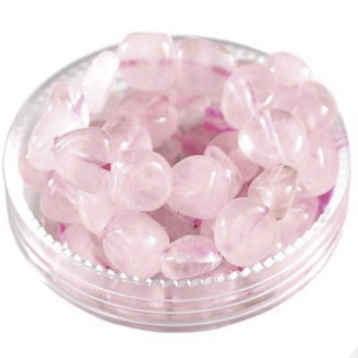 premium chips rose quartz 5 - 9 mm