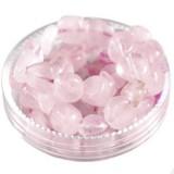 rose quartz premium chips 5 - 9 mm / semi-precious stone