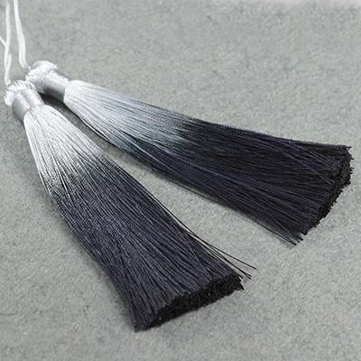 chwosty ombre czarne 13 cm