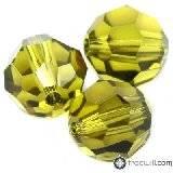 Swarovski round beads olivine 8 mm