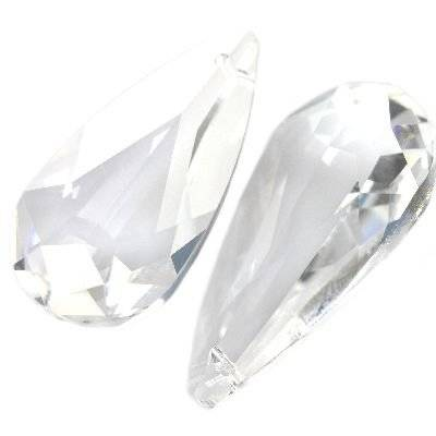 Swarovski teardrop pendants crystal 24 x 12 mm