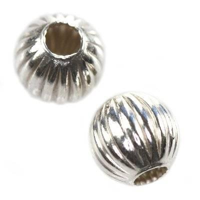 Silber 925 Zwischenelemente fassförmig 4 mm