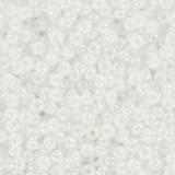 Perles Miyuki round ceylon white pearl 11/0 #11-528
