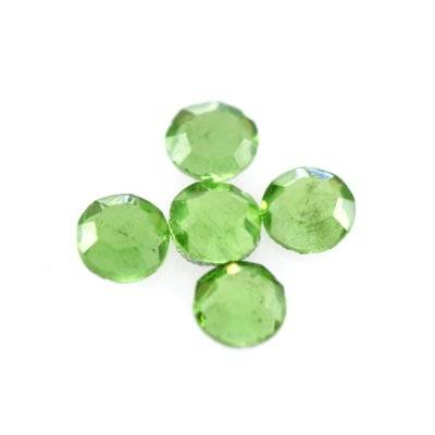 zircons flat mc chaton rose olivine SS 6