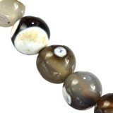 agate dragon eye white beads 10 mm dyed natural stone/ semi-precious stone dyed