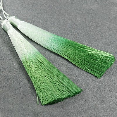 gland pendentifs ombre light green 13 cm