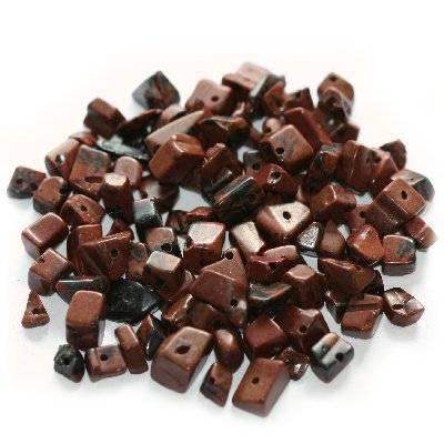 kamień obsydian mahoniowy naturalny