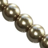 glass pearls cashmere 6 mm