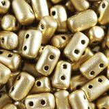 Matubo Rulla fired colour bronze pale gold crystal 3 x 5 mm RK2237