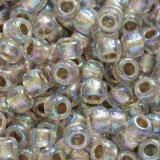 koraliki Toho round gold-lined rainbow crystal 3 mm TR-08-994