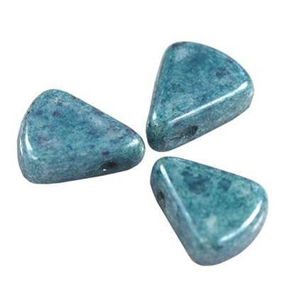 Pythagoras beads light blue 8 x 10 mm