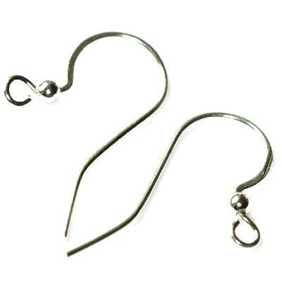 sterling silver 925 ear wire elegant with ball
