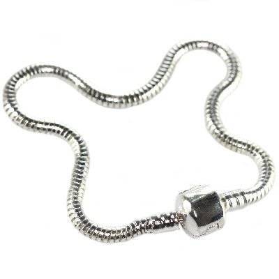 modular bracelet with clamp 21 cm
