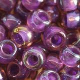 Toho biseris round inside-color rainbow rosaline/opaque purple l 4 mm TR-06-928