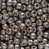 koraliki Toho round permafinish - galvanized gunmetal 2.2 mm TR-11-PF568