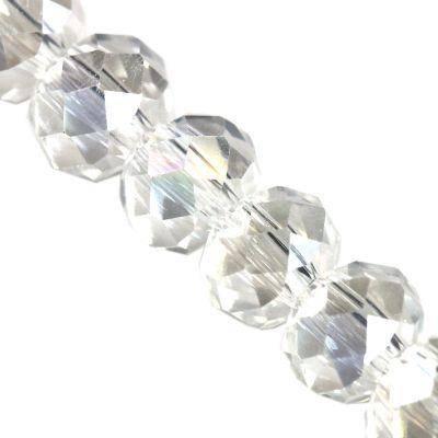 CrystaLine rondelle σαφές 3 χ 4 mm χάντρες AB / κρύσταλλο / crystal beads
