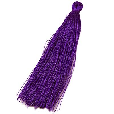Quasten violett 90 mm