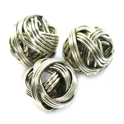 wire beads noodles 10 mm
