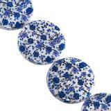 mother of pearl coin forget-me-not 25 mm