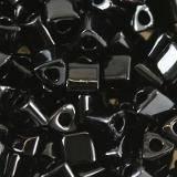 Toho beads triangle opaque jet 3 mm TG-08-49