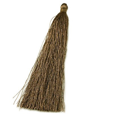 tassels brown 90 mm