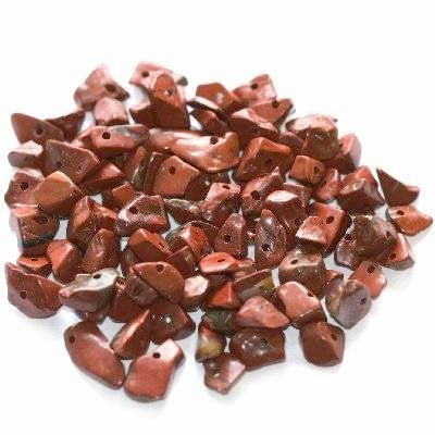 red jasper chips / semi-precious stone