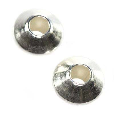 sterling silver 925 spacer ornamental ufo 4 mm